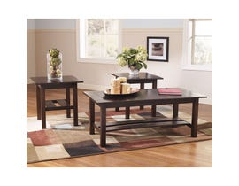 Signature Design by Ashley Lewis Series 3 piece Occasional Table Set T309-13