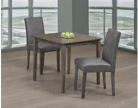 Titus Furniture 3pc Dining Set in Grey Finish T3115/248G-SET