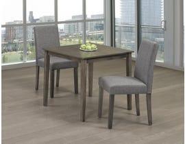Titus Furniture 3pc Dining Set in Grey Finish T3115/249-SET