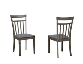 Titus Furniture Dining Chair (Set of 2) in Grey T3115-C