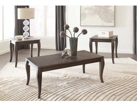 Signature Design by Ashley Vintelli Occational Table Set (3/CN) T316-13