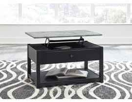 Signature Design by Ashley Ezmonei Lift Top Cocktail Table in Grey & Black T341-9