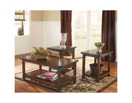 Signature Design by Ashley Murphy Series 3 Piece Occasional Table Set in Medium Brown T352-13