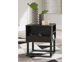 Signature Design by Ashley Airdon Series Square End Table T394-2