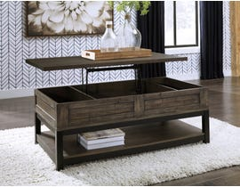 Signature Design by Ashley Johurst Lift Top Cocktail Table in Greyish Brown T444-9