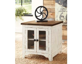 Signature Design by Ashley Wystfield Series Rectangular End Table T459-3