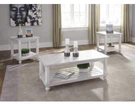 Signature Design by Ashley Cloudhurst Occasional Table Set in White (3/CN) T488-13