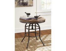 Signature Design by Ashley Vennilux Round End Table T500-726
