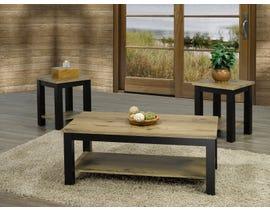 Titus Furniture Coffee Table Set in Medium Brown T5065-SET
