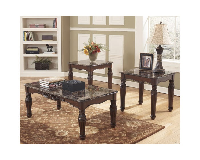 Occasional Table Set Ashley North Shore T533 13 Lastman S Bad Boy