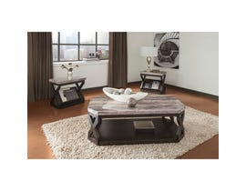 Signature Design by Ashley Radilyn Series 3-piece Occasional Table Set in Grayish Brown  T568-13
