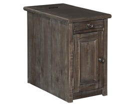 Signature Design by Ashley Wyndahl Series Chair Side End Table in Rustic Brown T648-7