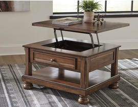 Signature Design by Ashley Flynnter Lift-Top Cocktail Table in Burnished Brown T716-0