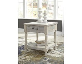 Signature Design by Ashley Shawnalore Series Rectangular End Table in Whitewash T782-3