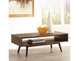 Signature Design by Ashley  Kisper wood Rectangular Cocktail Table in brown T802-1