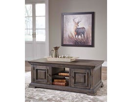 Signature Design by Ashley Wyndahl Cocktail Table in Brown T813-1