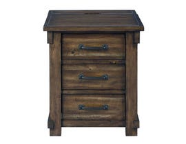 Signature Design by Ashley Lakeleigh Series Rectangular End Table in Brown T818-3