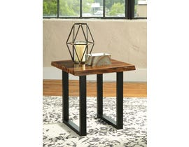 Signature Design by Ashley Brosward Series Square End Table in Two-tone T855-2