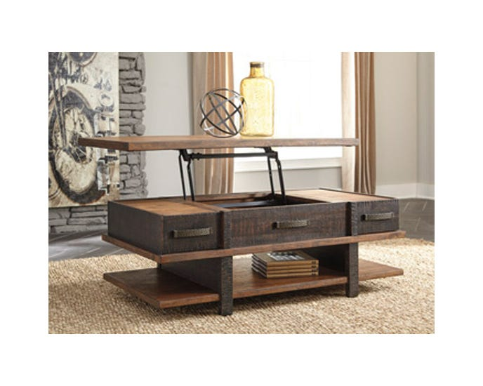Cocktail Table Ashley Stanah Lift Top T892 9 Lastman S Bad Boy