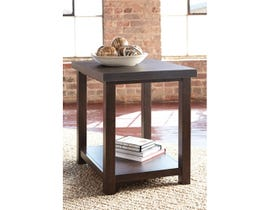 Signature Design by Ashley Starmore wood Chair Side End Table in brown T913-7