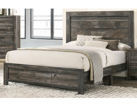 TLK Gallery Sammi Series Panel Bed in Dark Brown/Grey TKL7923-B