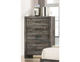 TLK Gallery Sammi Series Chest in Dark Brown/Grey TKL7923-B-CH