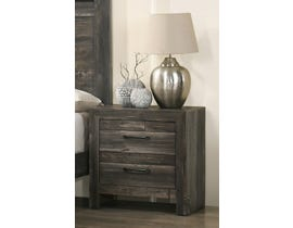 TLK Gallery Sammi Series Nightstand in Dark Brown/Grey TKL7923-B-NS