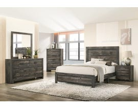 TLK Gallery Sammi Series Bedroom Set in Dark Brown/Grey TKL7923-B