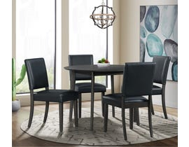 High Society Trent Series 5Pc Dining Set in Grey