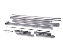Electrolux 79'' Louvered or 75'' Collar Dual Trim Kit in Stainless Steel TRIMKITSS2