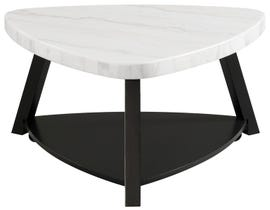 High Society Trinity Series Coffee Table in Black/White CTN100