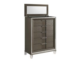 High Society Twenty-nine Collection Chest in Grey TN600CH