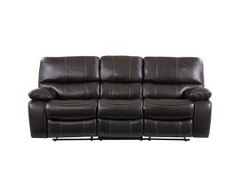 Global Furniture Espresso/Black Sofa