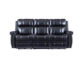 Global Furniture Power Reclining Sofa w/ Pwr Headrest