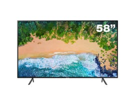 Samsung 58 inch Ultra-HD 4K Smart TV NU7100 Series 7 UN58NU7100FXZC
