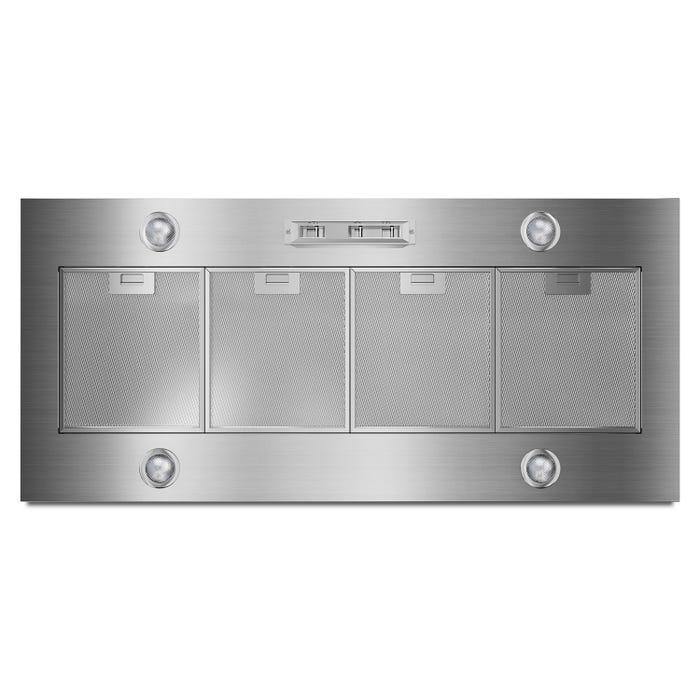 KitchenAid 48 Inch wide custom liner in stainless steel UXL6048YSS