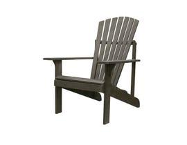 VIFAH Renaissance Outdoor Patio Wood Adirondack Chair V1823