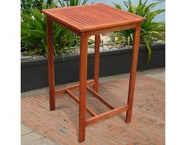 VIFAH Malibu Outdoor Patio Wood Bar Table V495T
