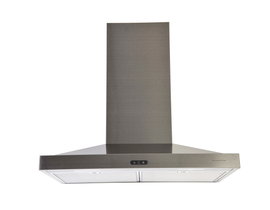 "Venmar 36"" Chef Slim 550 CFM Range Hood in Black Stainless Steel VCS55036BSL"