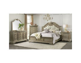 High Society Vincenza 6pc Bedroom Set in Bronze VC600