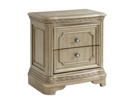 High Society Vincenza Nightstand with USB in Bronze VC600