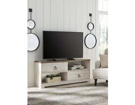 Signature Design by Ashley Willowton Series 60 inch TV Stand in Whitewash W267-468