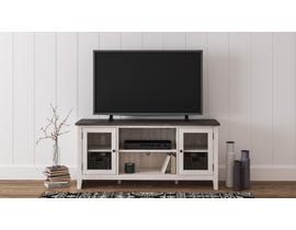 Ashley Dorrinson 60 inch TV Stand in Grey and Antique White W287-68