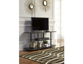 Signature Design by Ashley Cooperson Series 42 inch TV Stand in Black W380-118