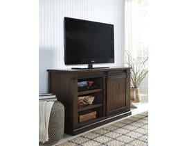 Signature Design by Ashley Budmore Series 50 inch TV Stand in Rustic Brown W562-28