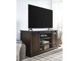 Signature Design by Ashley Budmore Series 60 inch TV Stand in Rustic Brown W562-48
