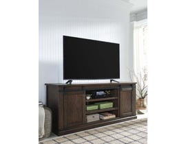 Signature Design by Ashley Budmore Series 70 inch TV Stand in Rustic Brown W562-68