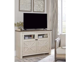 Signature Design by Ashley Bolanburg Series Medium TV Stand in Two-tone W647-38