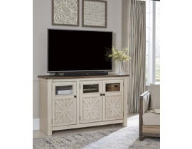 Signature Design by Ashley Bolanburg Series 60 inch TV Stand in Two-Tone W647-38