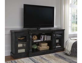 Signature Design by Ashley Mallacar Series XL TV Stand w/Fireplace Option